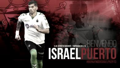 Israel Puerto, nuevo jugador del Mirandés