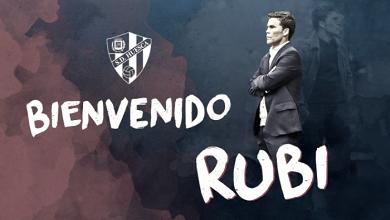 Rubi, entrenador de la SD Huesca