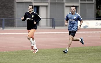 Kuzmanovic ya entrena como malaguista