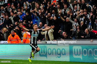 Newcastle United 2-1 Wigan Athletic: Ritchie strike sends Magpies closer to promotion against battling Latics