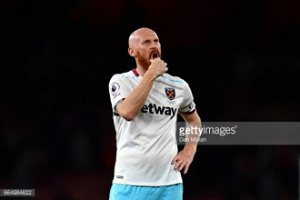 "Swansea clash is West Ham's biggest game in ""a few years"" admits defender James Collins"