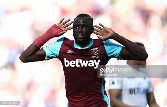 Cheikhou Kouyaté to miss the end of West Ham's season to undergo wrist surgery