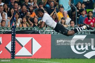 Nasoko double helps Fiji claim third straight Hong Kong Sevens title