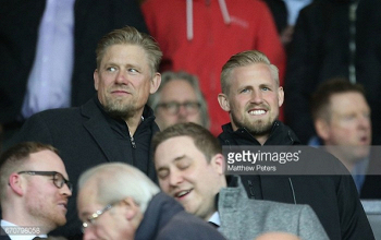 Peter Schmeichel admits it would be a dream to see his son play for Man Utd