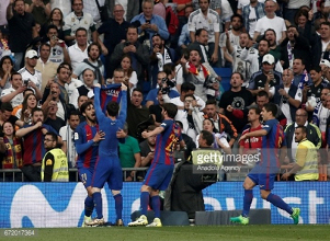 Real Madrid 2-3 Barcelona: Historic 500th Lionel Messi goal wins electric El Clásico