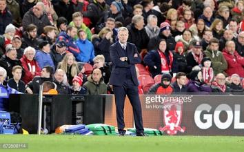 David Moyes vows he won't leave struggling Sunderland after Middlesbrough defeat