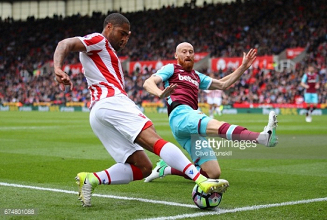 "James Collins admits Hammers are ""happy with a point"" in Stoke stalemate"