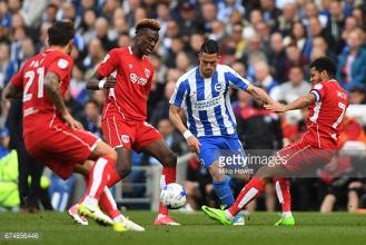 Brighton 0-1 Bristol City: Gulls fail to clinch Championship title