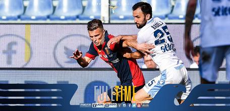 Serie A- Criscito condanna la Lazio all'ultimo respiro, il Genoa trionfa (2-1)