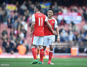 Özil and Sánchez set to become highest-paid players in Arsenal's history