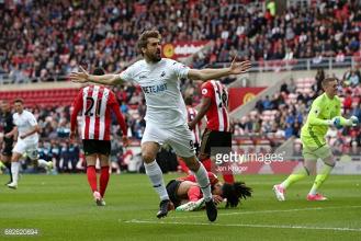 Sunderland 0-2 Swansea City: Swans take huge step towards safety