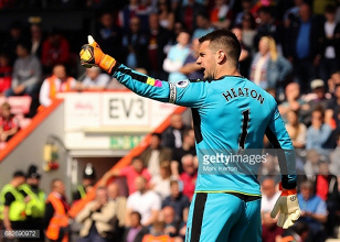Tom Heaton and Michael Keane take Burnley's Player of the Year Awards