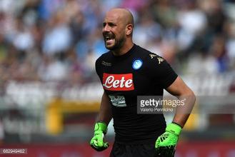 Manchester City make £2.5million bid for Napoli goalkeeper Pepe Reina