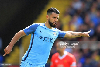 "Sergio Agüero states he is ""very happy"" at Manchester City despite rumours on his future"