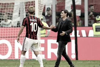 Milan: Honda in gol, poi l'annuncio dell'addio