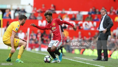 Angel Gomes honoured to make record-breaking Manchester United debut in Palace victory