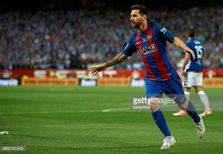 Lionel Messi commits future to FC Barcelona until 2021