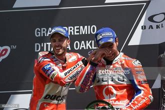 MotoGP: Emotional Mugello podium for Petrucci