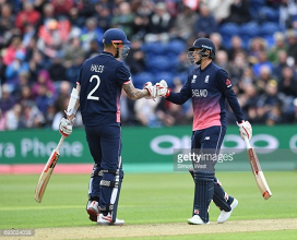 England vs New Zealand: Hosts through to semi-finals with 87-run victory