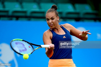 AEGON Open Nottingham 2017: Christie knocked out in first qualifying round by Martincova