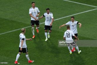 Australia 2-3 Germany: Die Mannschaft win despite Leno errors