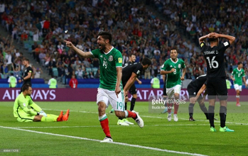 Mexico 2-1 New Zealand: All Whites knocked out after El Tri comeback