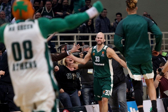 Turkish Airlines Euroleague - Il Panathinaikos batte all'overtime lo Zalgiris Kaunas (94-93)