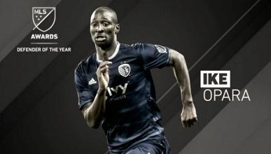 Opara, mejor defensor de la MLS