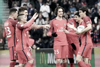 El PSG golea al Bastia y apura sus opciones de título