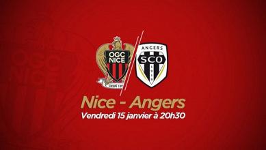 Revivez le live OGC Nice - SCO Angers (2-1)