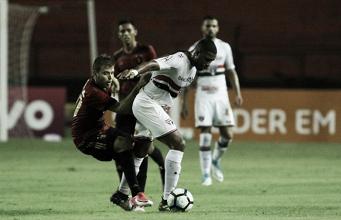 """Jucilei exalta empenho do São Paulo após empate contra Sport: """"Demos um passo importante"""""""