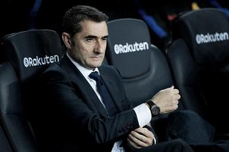 """Valverde exalta goleada do Barça sobre Girona e ressalta: """"Queremos manter o nível"""""""