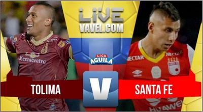 Santa Fe se llevó los 3 puntos frente al Tolima en Ibagué (0-1)