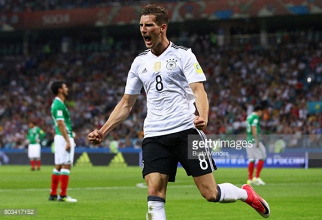 Germany 4-1 Mexico: Goretzka leads clinical Germans to Confederations Cup final