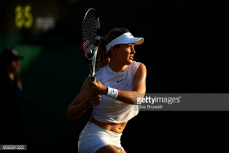 Eugenie Bouchard inspired by recent training sessions with Andre Agassi