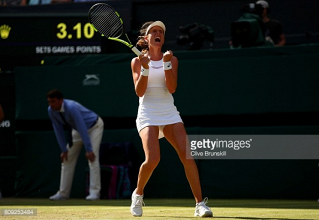 Wimbledon 2017: Johanna Konta sees off Donna Vekic in thriller