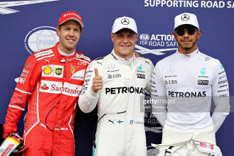 2017 Austrian GP: Bottas takes second career pole