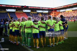 Euro 2017: Julia Spetsmark fitting in well with her new Sweden teammates