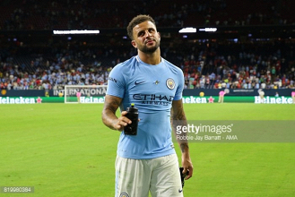 "City's Kyle Walker admits that meeting with Tottenham will be ""difficult"" ahead of Nashville clash"