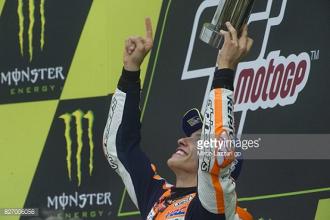 MotoGP: Rain causes chaos as Marquez wins in Brno