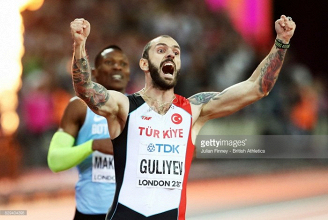 London 2017: Ramil Guliyev takes shock 200m victory as cult hero Isaac Makwala misses out on a medal