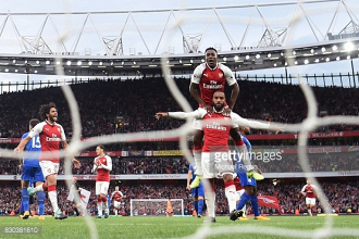 Arsenal 4-3 Leicester City: Substitutes help Gunners snatch opening thriller