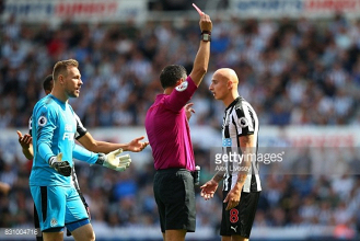 Newcastle United 0-2 Tottenham Hotspur: Jonjo Shelvey red gifts Spurs comfortable win