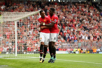 """Anthony Martial hailed as """"one of the best players I have seen"""" by United team-mate Paul Pogba"""