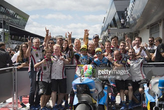 Moto2: Morbidelli wins racing masterclass in Austria