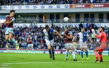 Blackburn Rovers 0-2 Burnley: Clarets cruise through 'Cotton Mills Derby'
