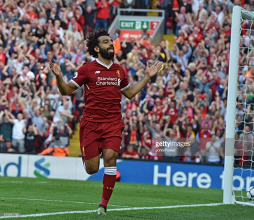 Mohamed Salah awarded Liverpool's Player of the Month award for August