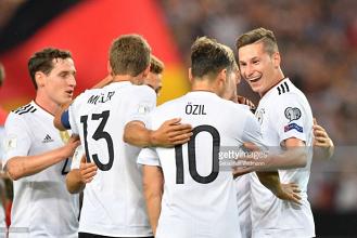 Germany 6-0 Norway: Werner-inspired Germany thrash Norway in Stuttgart