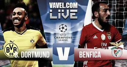 Jogo Borussia Dortmund x Benfica na Liga dos Campeões 2017
