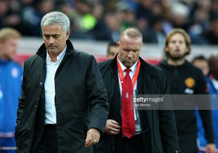 Manchester United are not satisfied with a point at Stoke, insists Jose Mourinho